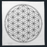 "Flower of Life Grid Cloths (4)<br><div class=""desc"">Made of 100% grade A woven white cotton,  machine washable,  includes set of 4,  Sewn in the USA</div>"