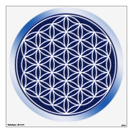 Flower Of Life - Heaven Wall Decal