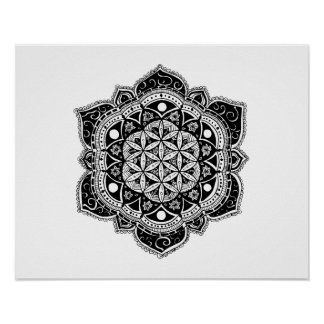 Flower of life II Poster
