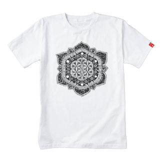 Flower of life II Zazzle HEART T-Shirt