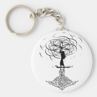 Flower of Life Keychain