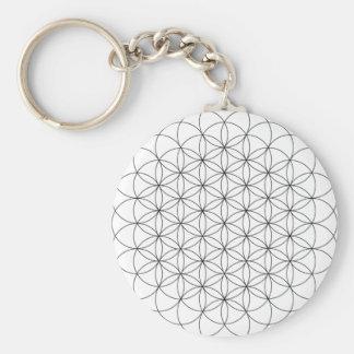 Flower of Life Keychain