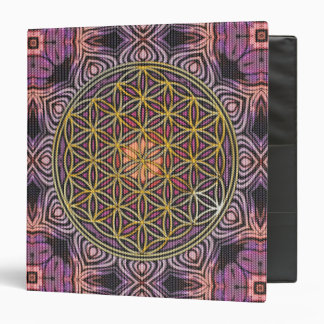 Flower Of Life - knitting seamless pattern V Binder