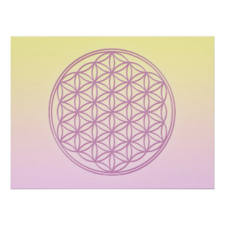 Flower of Life - Lady Portia Posters