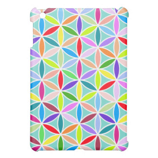 Flower of Life Large Pattern – Multicoloured Case For The iPad Mini