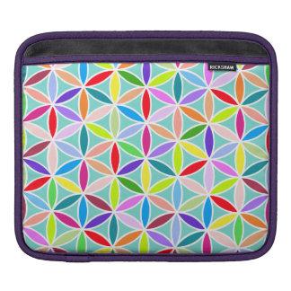 Flower of Life Large Pattern – Multicoloured iPad Sleeve