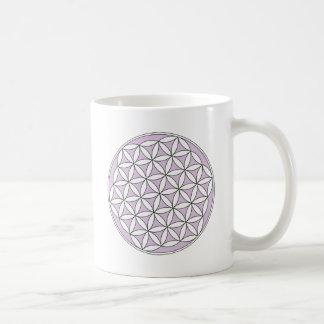 Flower of Life Lilac Mug