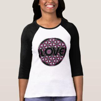 Flower of Life love pink  long sleeve shirt