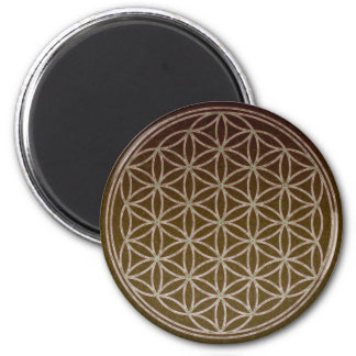 Flower of Life 2 Inch Round Magnet
