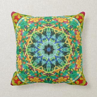 Flower of Life Mandala 10 Pillow