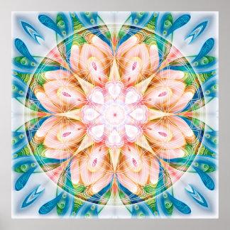 Flower of Life Mandala 11 Poster