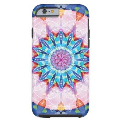 Flower of Life Mandala 12 iPhone 6 Case