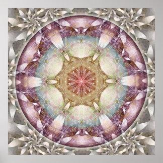 Flower of Life Mandala 13 Poster