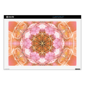 """Flower of Life Mandala 18 Gifts Decal For 17"""" Laptop"""