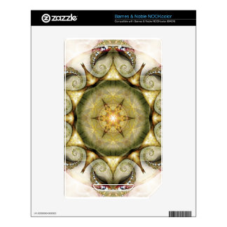 Flower of Life Mandala 19 Gifts Skins For The NOOK Color