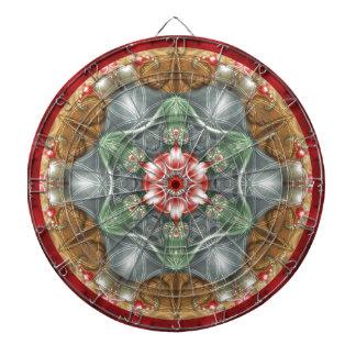 Flower of Life Mandala 2 Gifts Dart Board