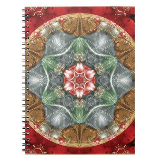 Flower of Life Mandala 2 Gifts Notebook