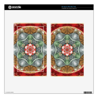 Flower of Life Mandala 2 Gifts Kindle Fire Decal