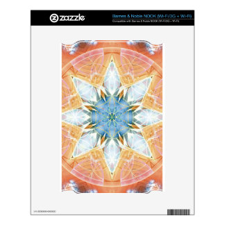 Flower of Life Mandala 3 Gifts Decal For The NOOK