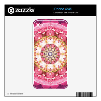 Flower of Life Mandala 5 Gifts Decal For The iPhone 4