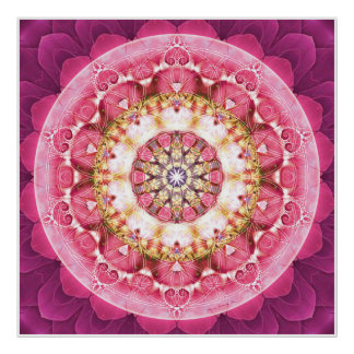 Flower of Life Mandala 5 Poster