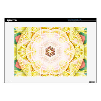 """Flower of Life Mandala 7 Gifts Decal For 15"""" Laptop"""