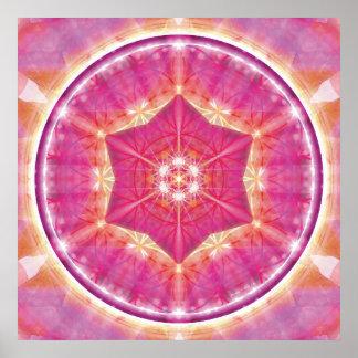 Flower of Life Mandala 9 Poster