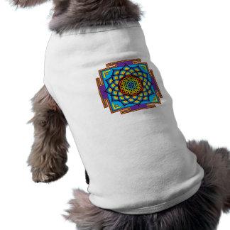 Flower of Life Mandala Doggie Tshirt