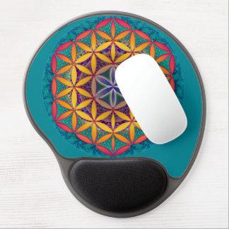 Flower of Life Mandala Gel Mouse Pad