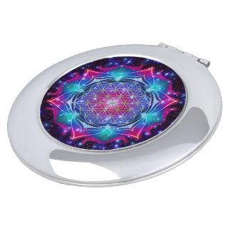 Flower of Life - Mandala IV universe Compact Mirrors
