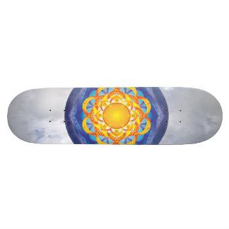 Flower of Life Mandala Skateboard
