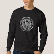 Flower of life mandala sweatshirt