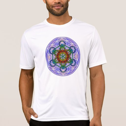 Flower of Life/Metatron's Cube T-shirts