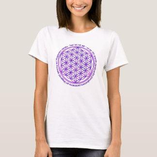 Flower Of Life - Moola Mantra - violet T-Shirt