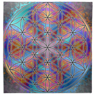 Flower of Life Napkin 1