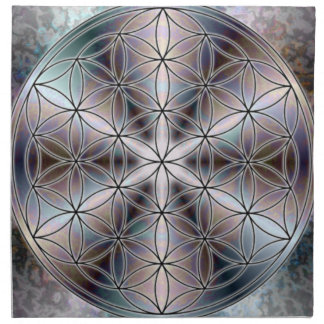 Flower of Life Napkin 2