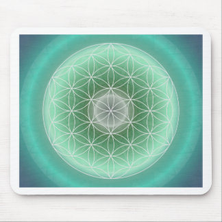 Flower of life no. 10 created by Tutti Mouse Pad