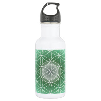 Flower of life no. 10 created by Tutti Water Bottle