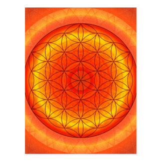 Flower of Life no. 2 created by Tutti Postcard