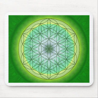 Flower of Life No 3 Mouse Pad