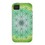 Flower of Life No 3 Vibe iPhone 4 Covers