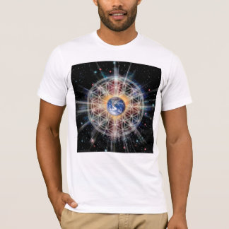 Flower of Life on Earth T-Shirt