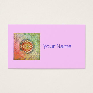 Flower of Life - Ornament I Business Card