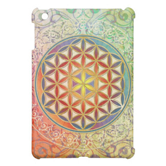 Flower of Life - Ornament I Cover For The iPad Mini