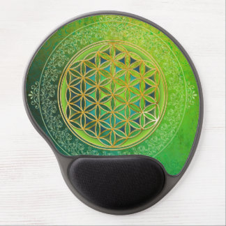 Flower of Life - Ornament II Gel Mouse Pad