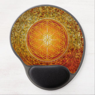 Flower of Life - Ornament III Gel Mouse Pad