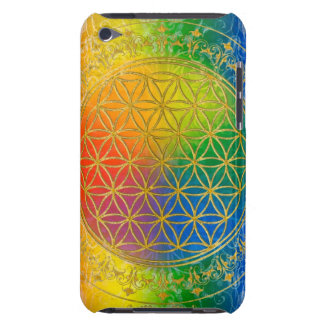 Flower of Life - Ornament Rainbow gold iPod Case-Mate Case