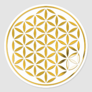 Flower Of Life - oro 1 stamp