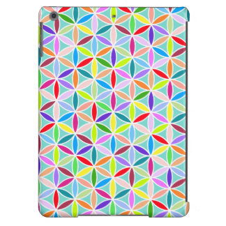 Flower of Life Pattern – Multicoloured iPad Air Case