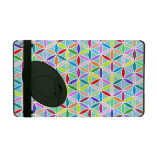 Flower of Life Pattern – Multicoloured Covers For iPad